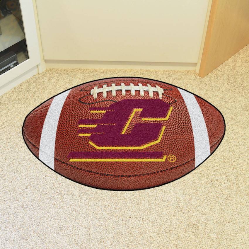 Central Michigan Chippewas 22 x 35 FOOTBALL Mat