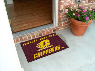 Central Michigan Chippewas 20 x 30 STARTER Floor Mat