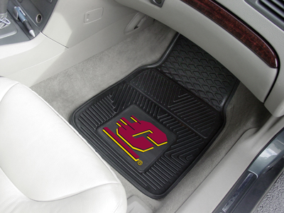 Central Michigan Chippewas Car Floor Mats 18 x 27 Heavy Duty Vinyl Pair