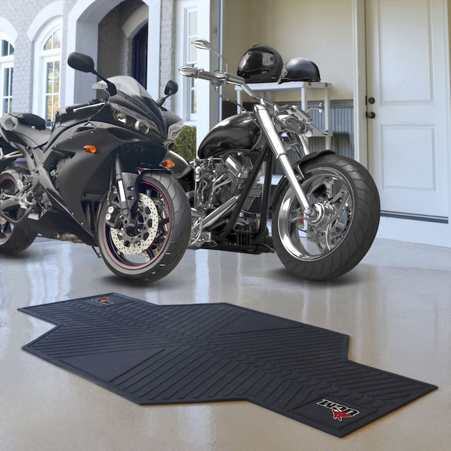 Central Missouri Mules Motorcycle Mat
