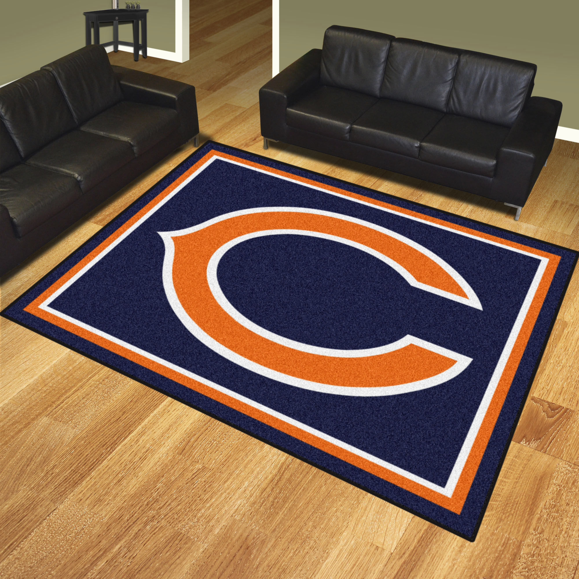 Chicago Bears Ultra Plush 8x10 Area Rug