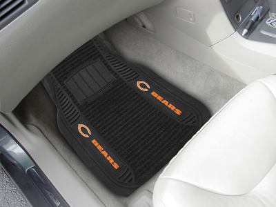 Chicago Bears Deluxe 20 x 27 Car Floor Mats