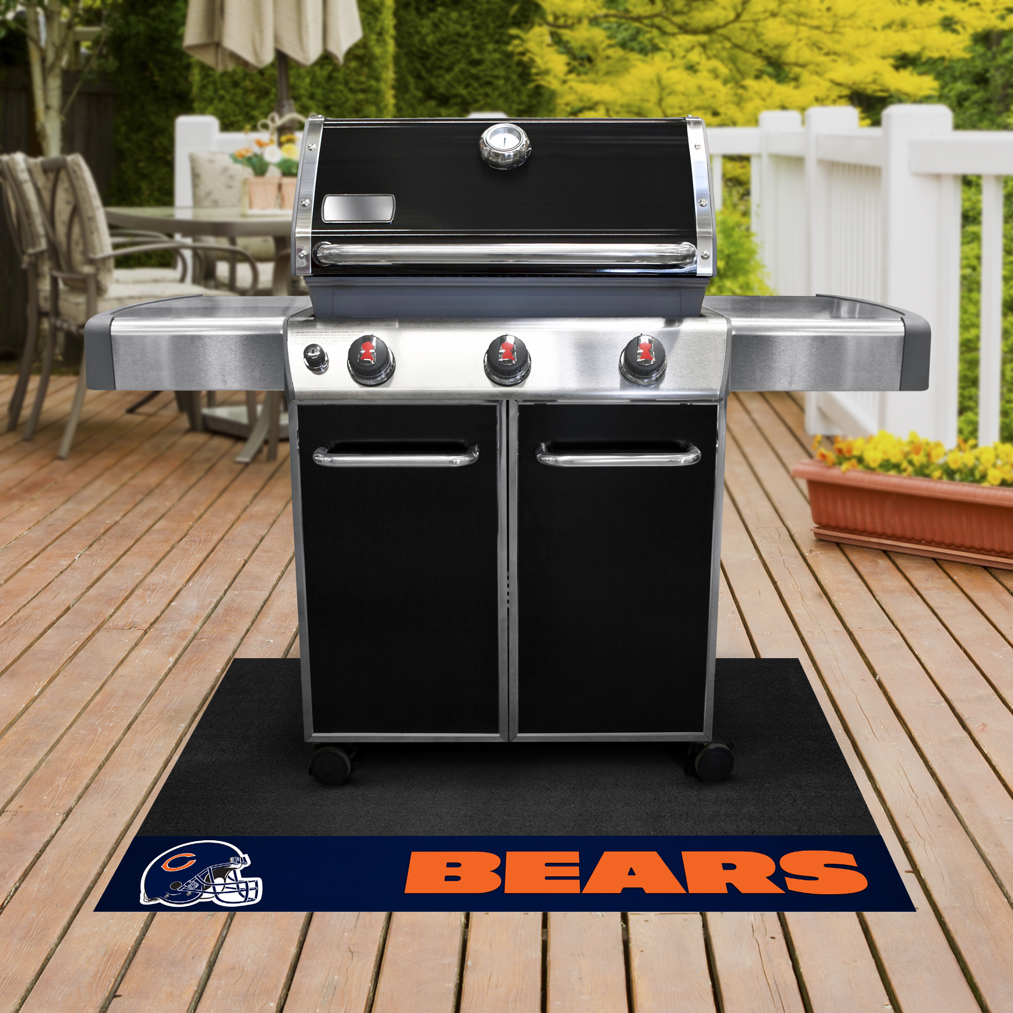 Chicago Bears NFL Grill Mat