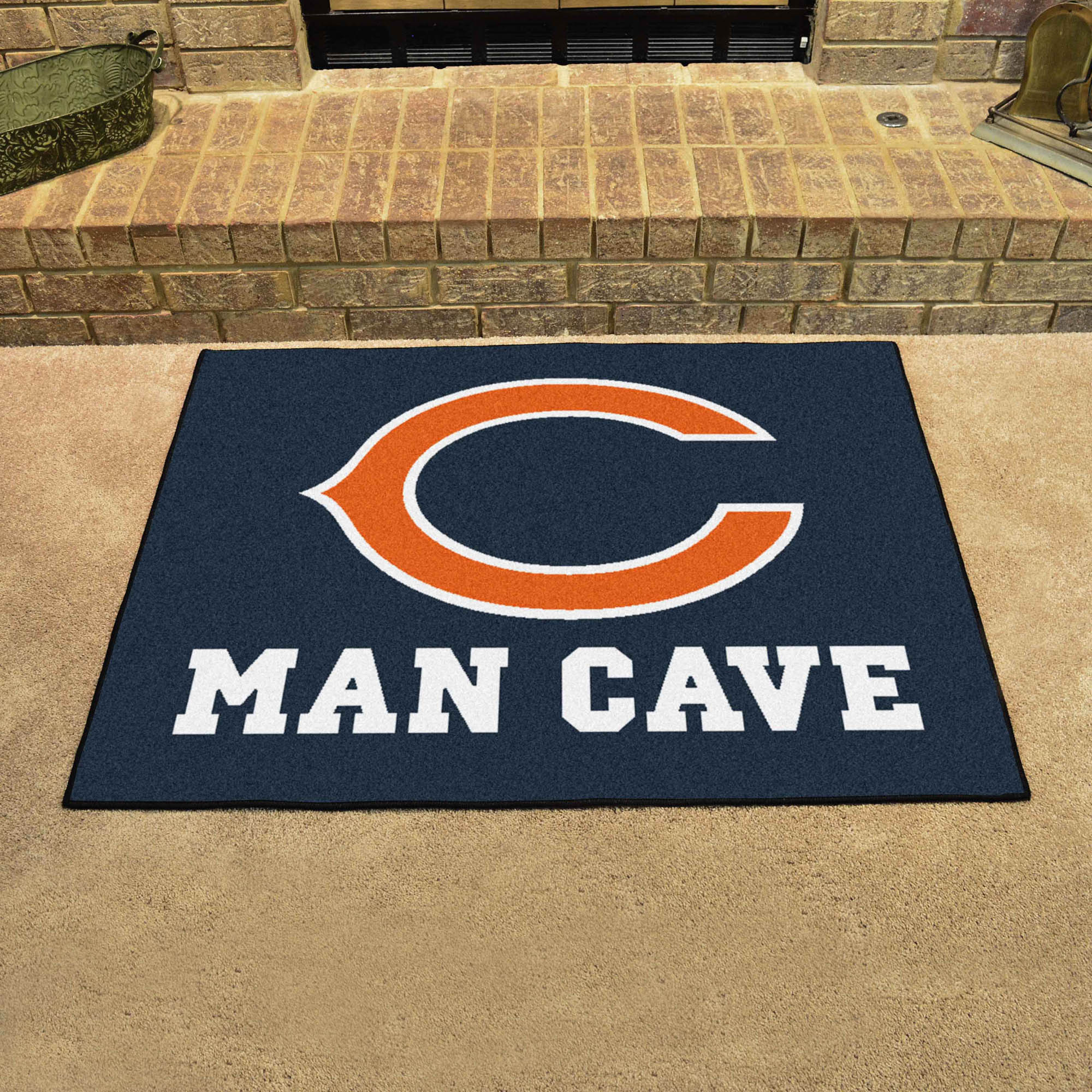Chicago Bears ALL STAR 34 x 45 MAN CAVE Floor Mat