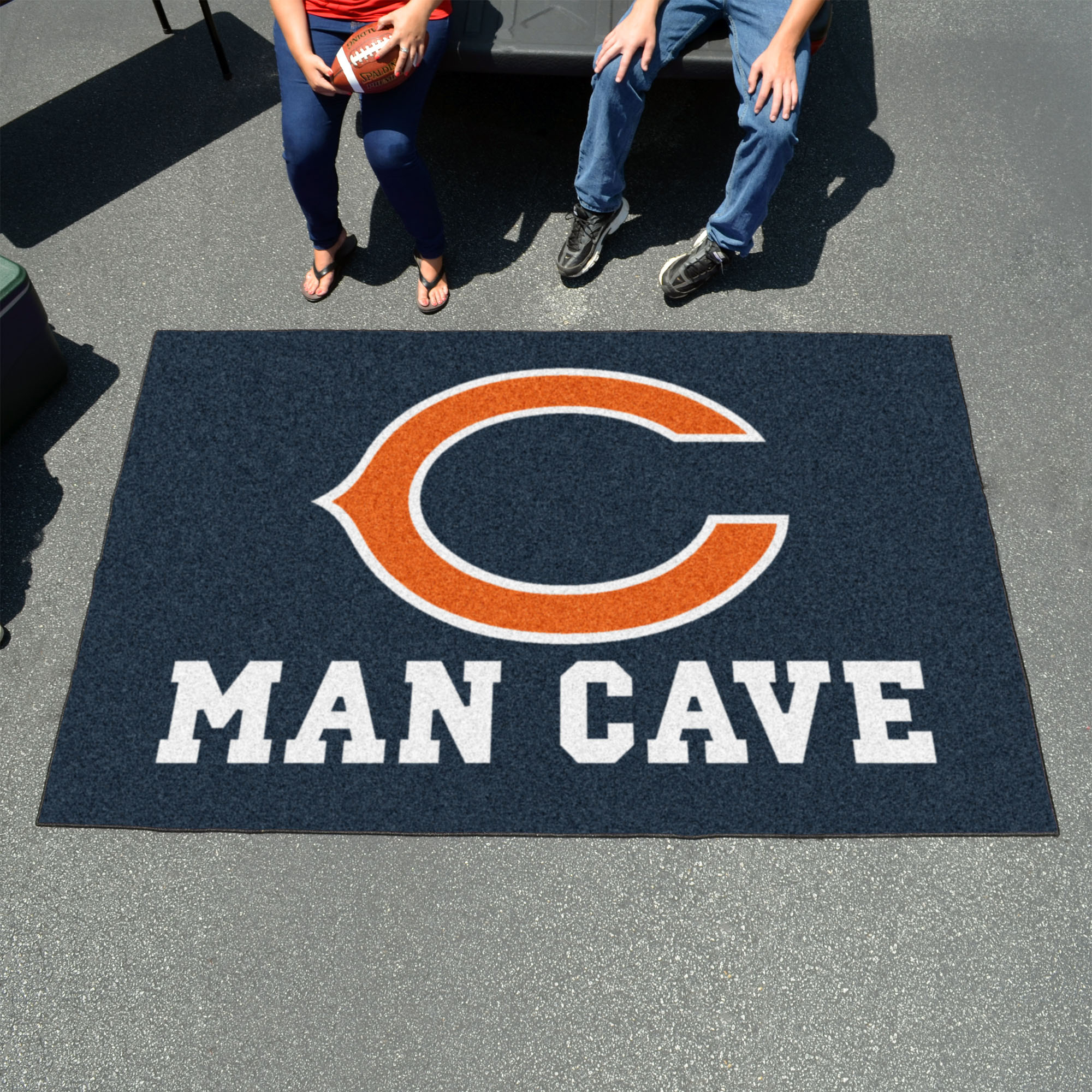 Chicago Bears UTILI-MAT 60 x 96 MAN CAVE Rug