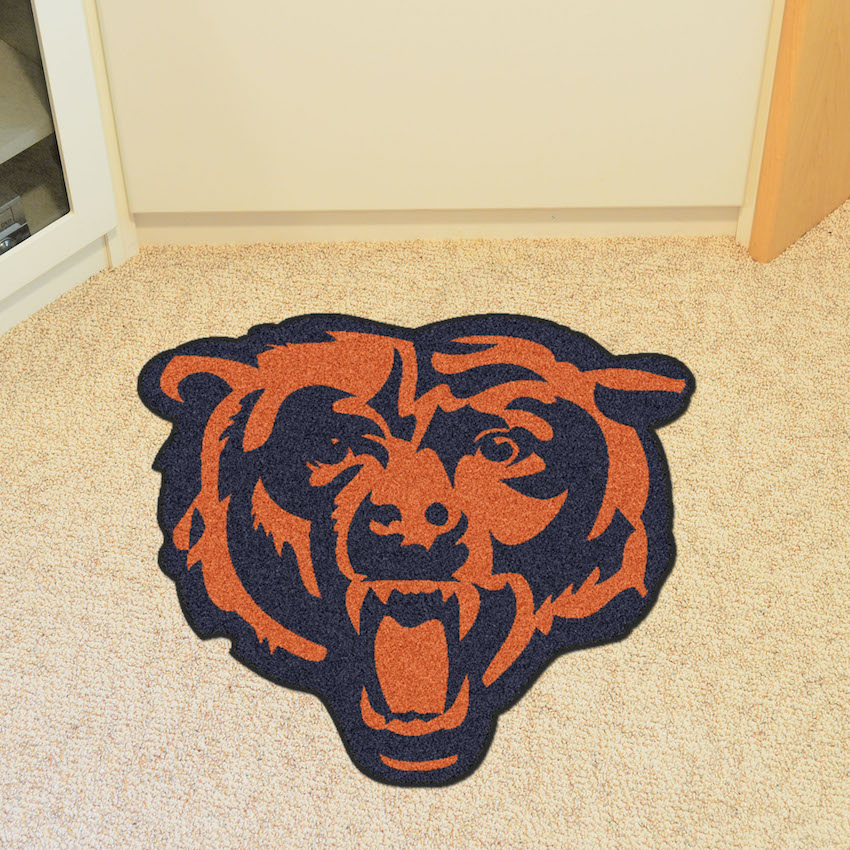 Chicago Bears MASCOT 36 x 48 Floor Mat