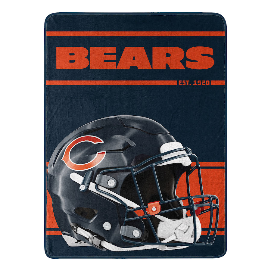 Chicago Bears Micro 50 x 60 Team Blanket