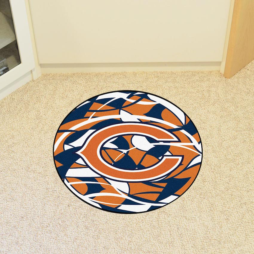 Chicago Bears Quick Snap Roundel Mat