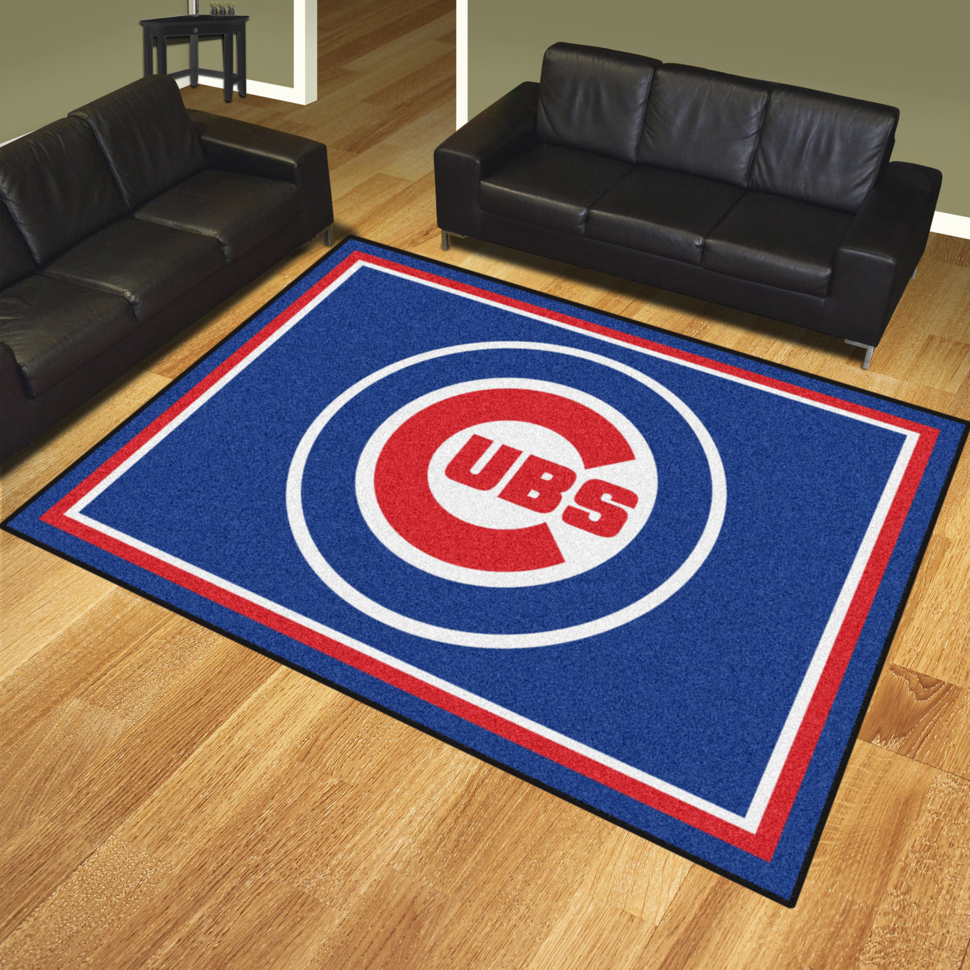 Chicago Cubs Ultra Plush 8x10 Area Rug