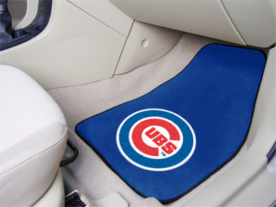 Chicago Cubs Car Floor Mats 18 x 27 Carpeted-Pair