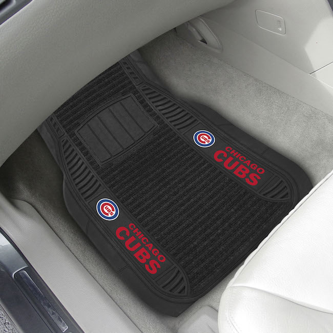 Chicago Cubs Deluxe 20 x 27 Car Floor Mats
