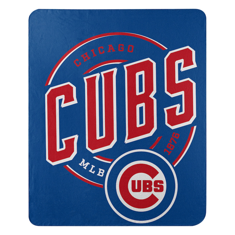 Chicago Cubs Fleece Throw Blanket 50 X 60 Buy At Khc Sports