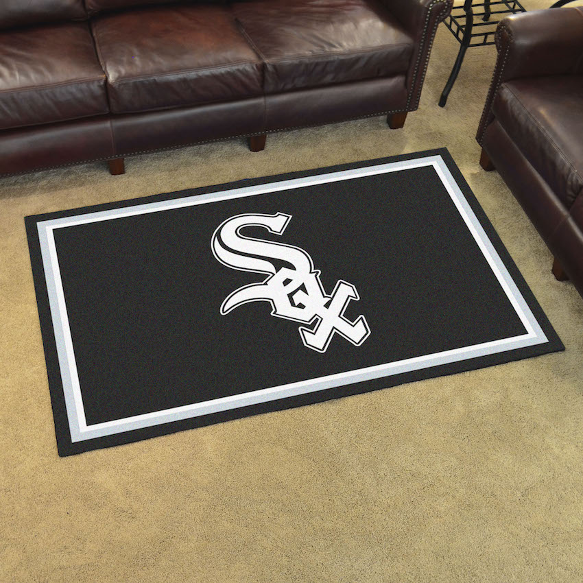 Chicago White Sox 4x6 Area Rug