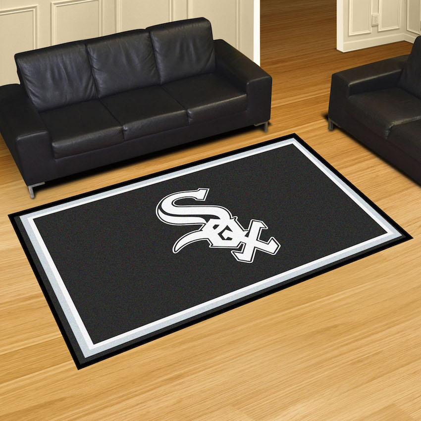 Chicago White Sox 5x8 Area Rug