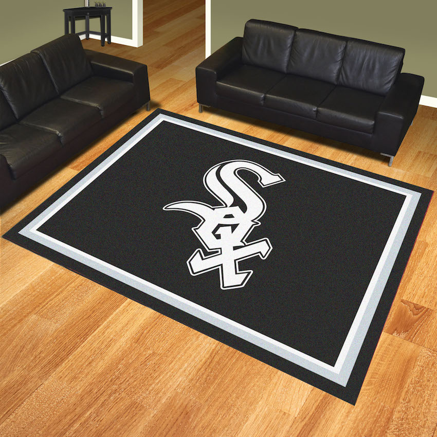 Chicago White Sox Ultra Plush 8x10 Area Rug