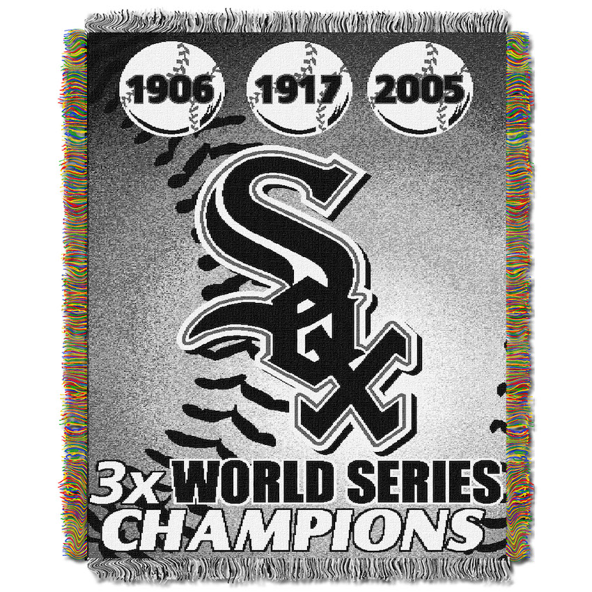 Chicago White Sox Commemorative World Series Tapestry Throw