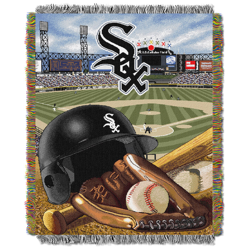 Chicago White Sox Home Field Advantage Series Tapestry Blanket 48 x 60
