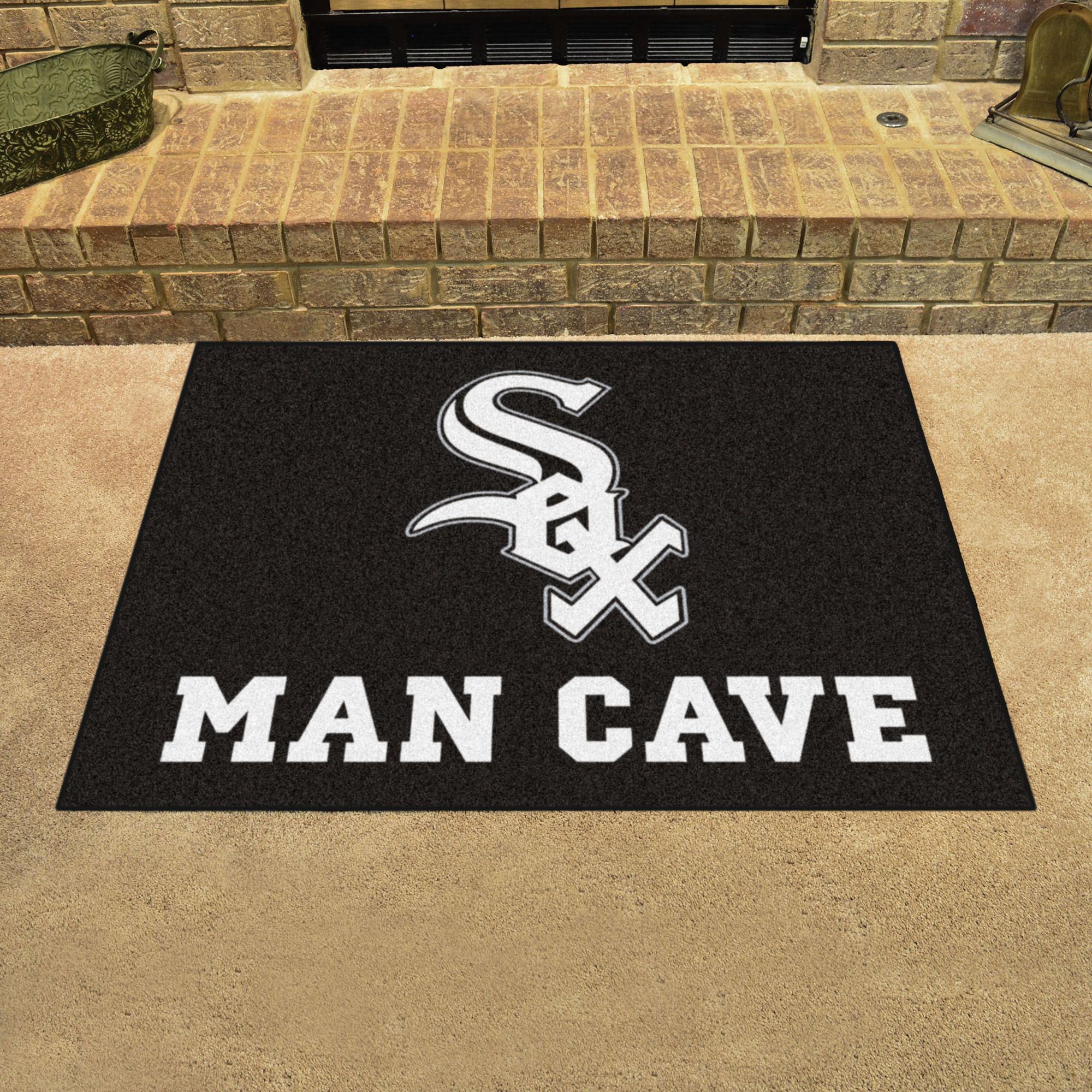 Chicago White Sox ALL STAR 34 x 45 MAN CAVE Floor Mat
