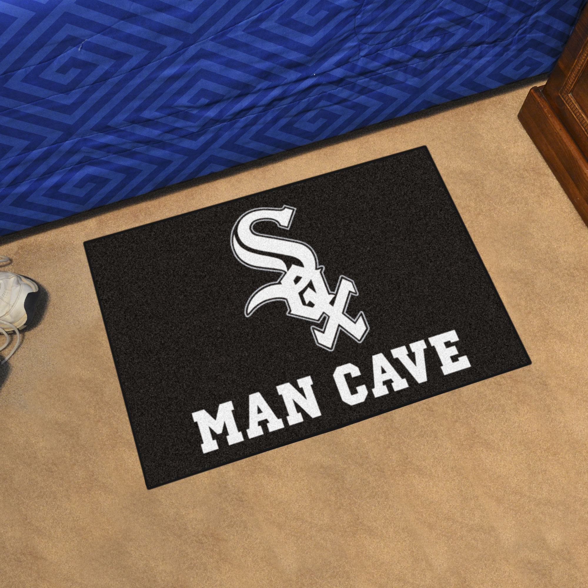 Chicago White Sox MAN CAVE 20 x 30 STARTER Floor Mat