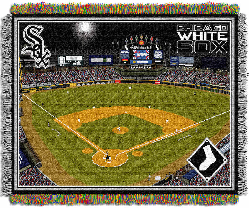 Chicago White Sox Stadium Tapestry Blanket 48 x 60