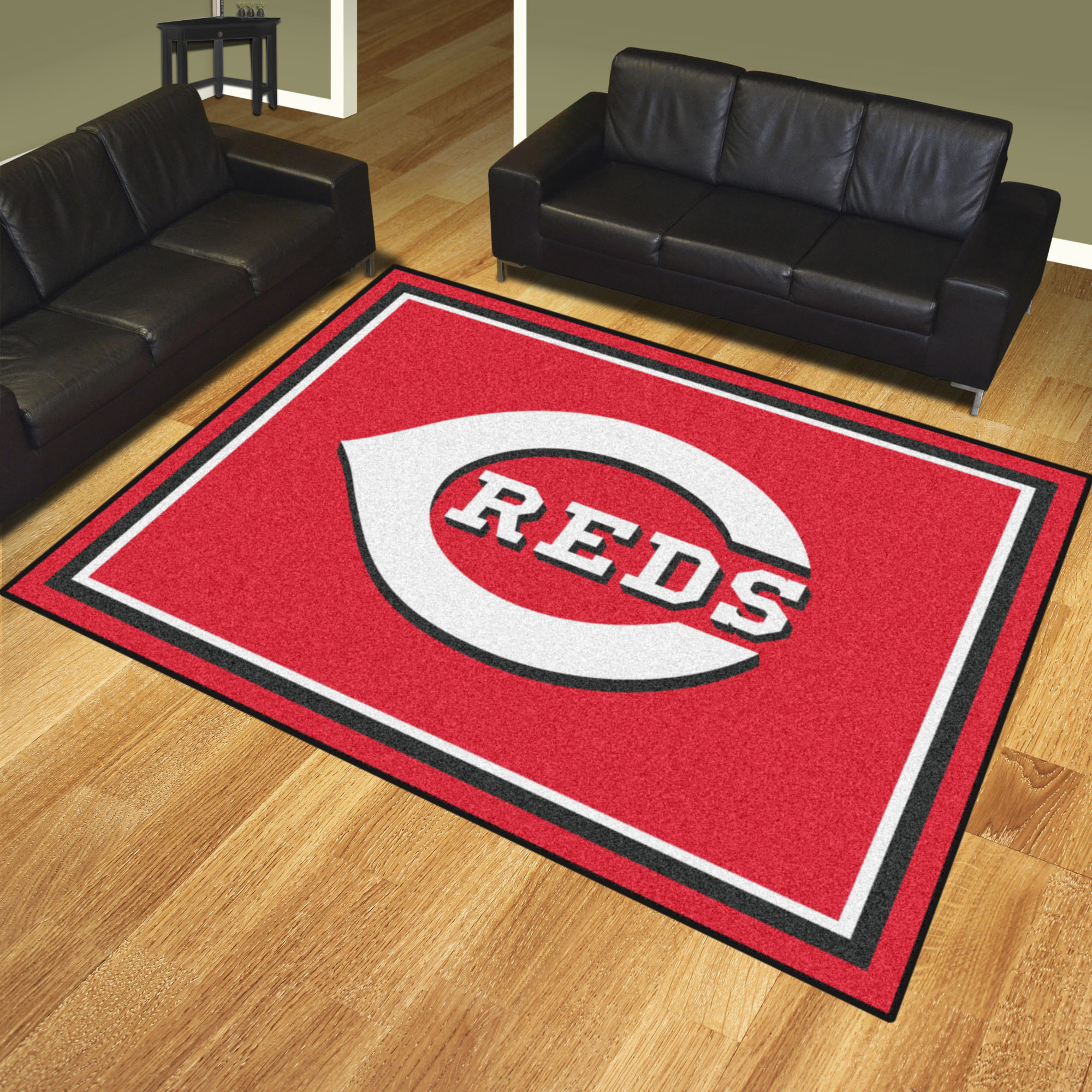 Cincinnati Reds Ultra Plush 8x10 Area Rug