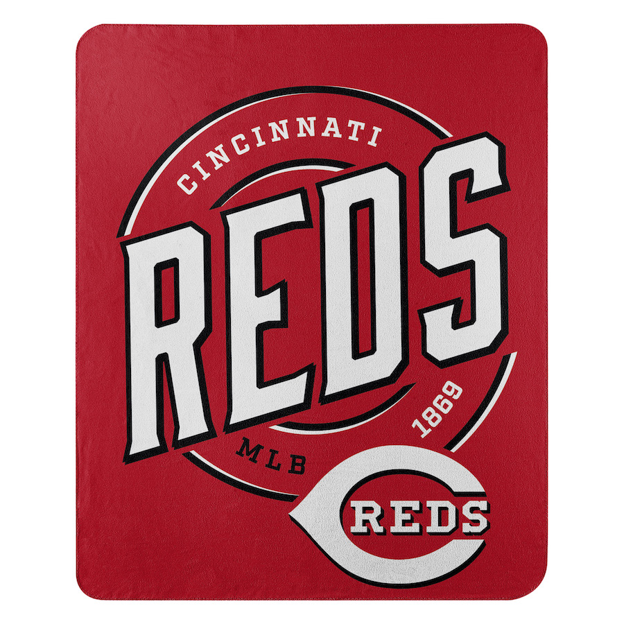 Cincinnati Reds Fleece Throw Blanket 50 x 60