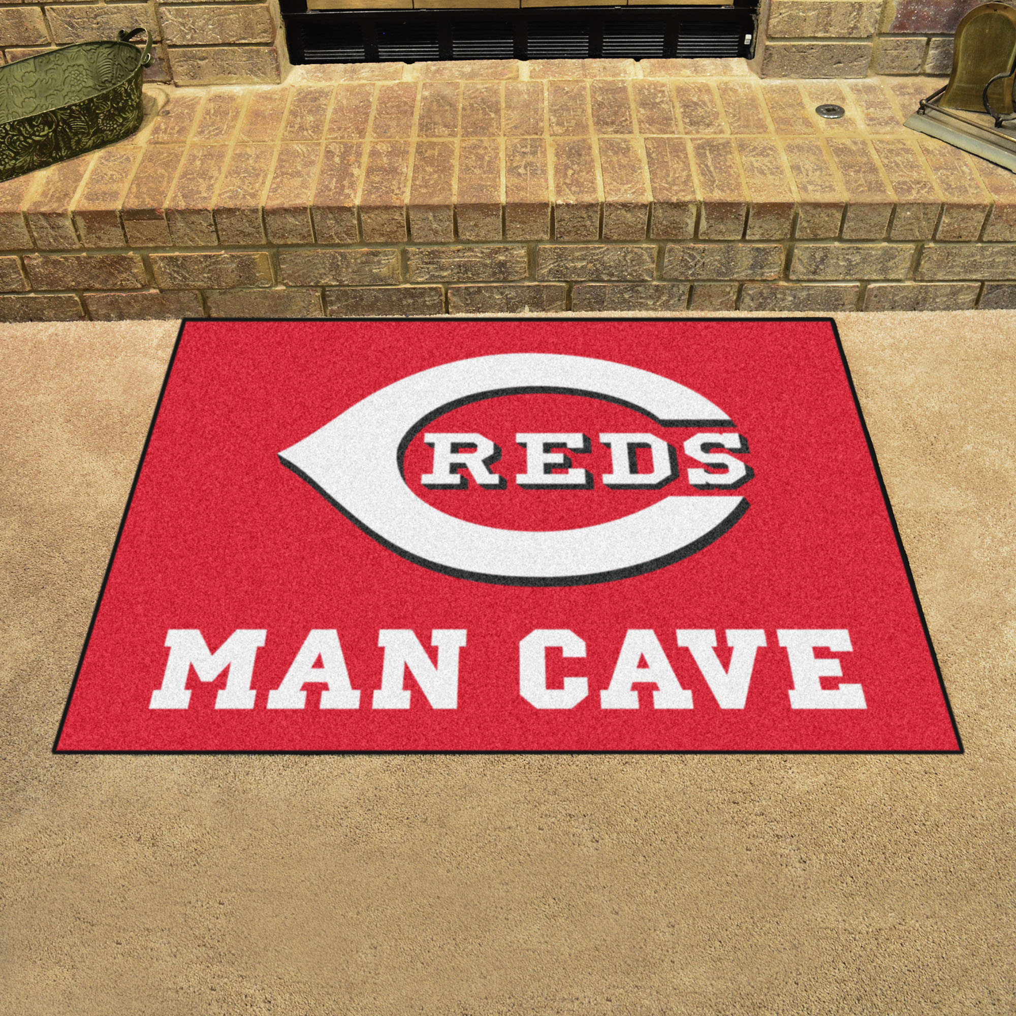 Cincinnati Reds ALL STAR 34 x 45 MAN CAVE Floor Mat