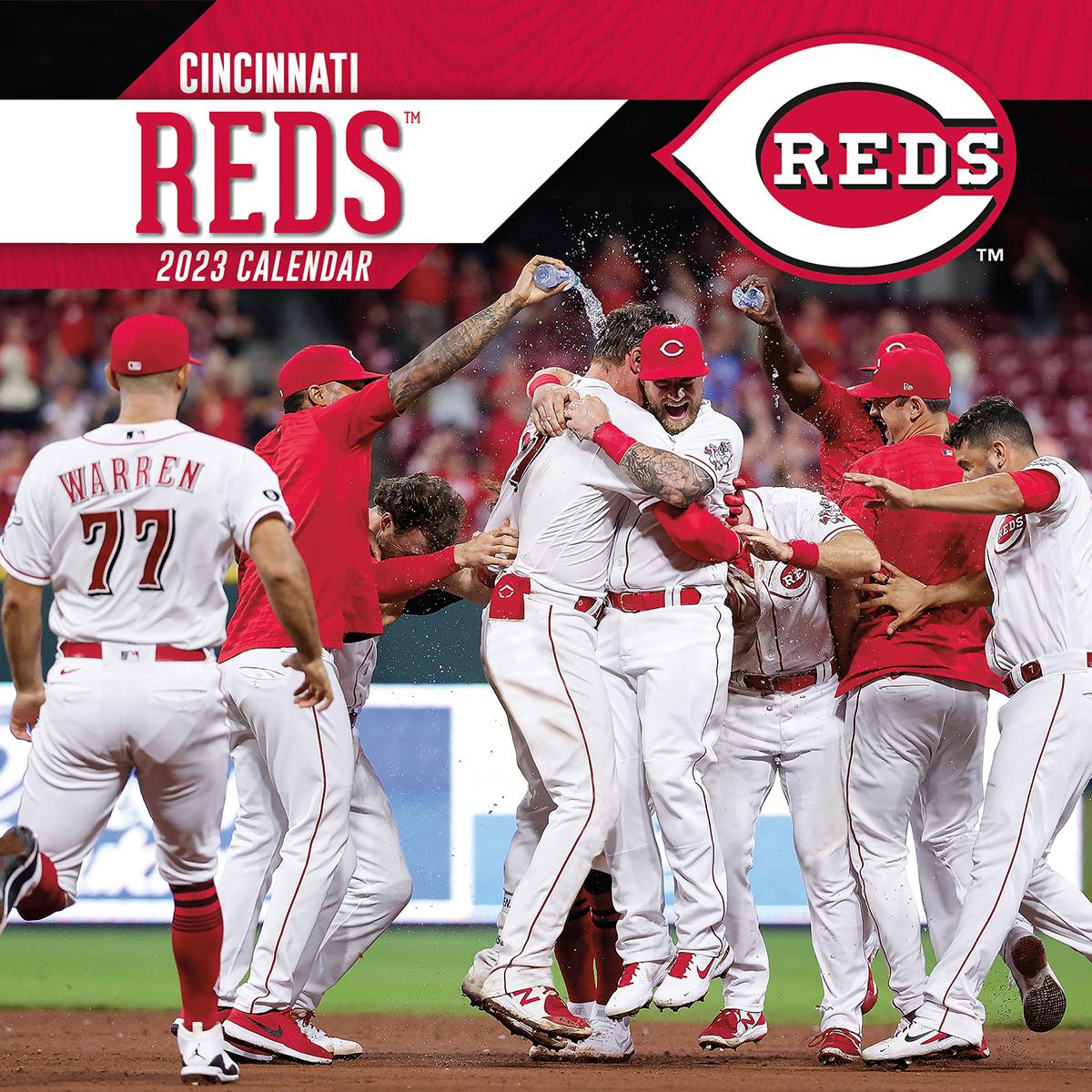 Cincinnati Reds 2019 Wall Calendar Buy At Khc Sports