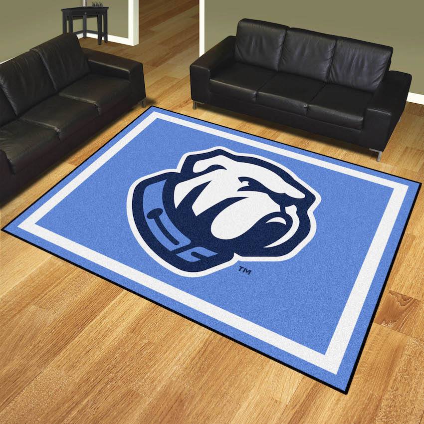 Citadel Bulldogs Ultra Plush 8x10 Area Rug