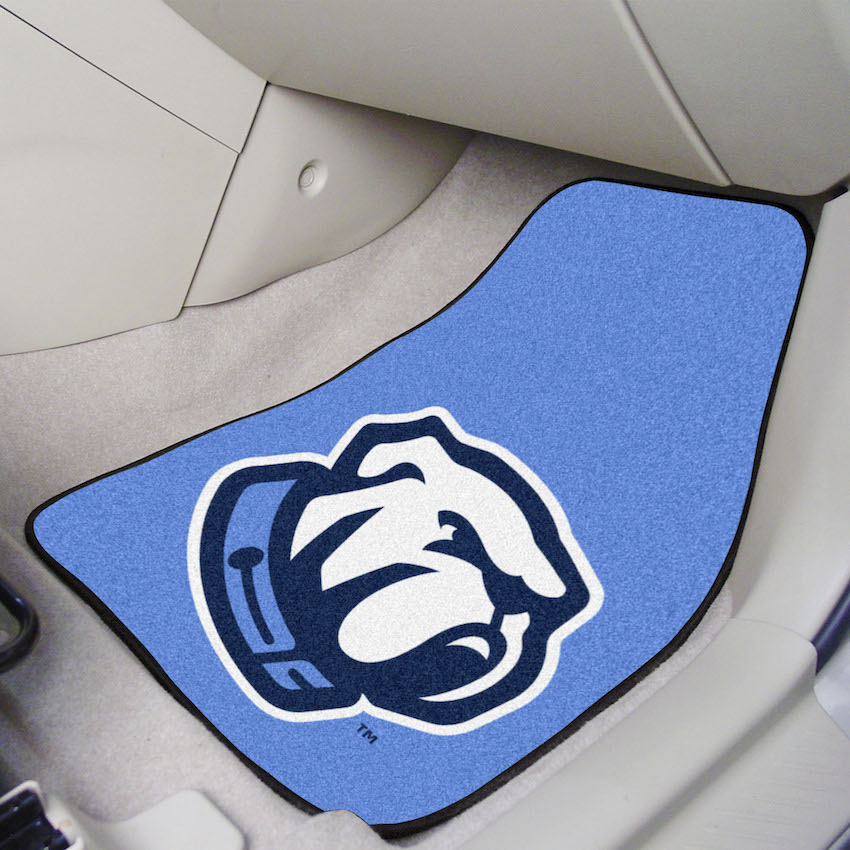Citadel Bulldogs Car Floor Mats 18 x 27 Carpeted-Pair