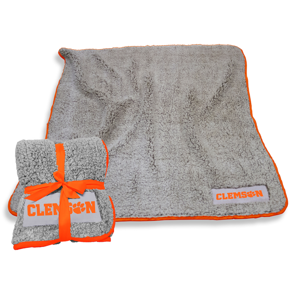 Clemson Tigers Frosty Throw Blanket