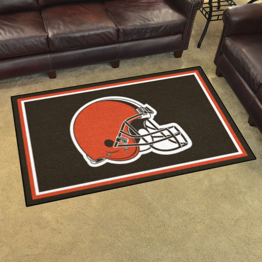Cleveland Browns 4x6 Area Rug