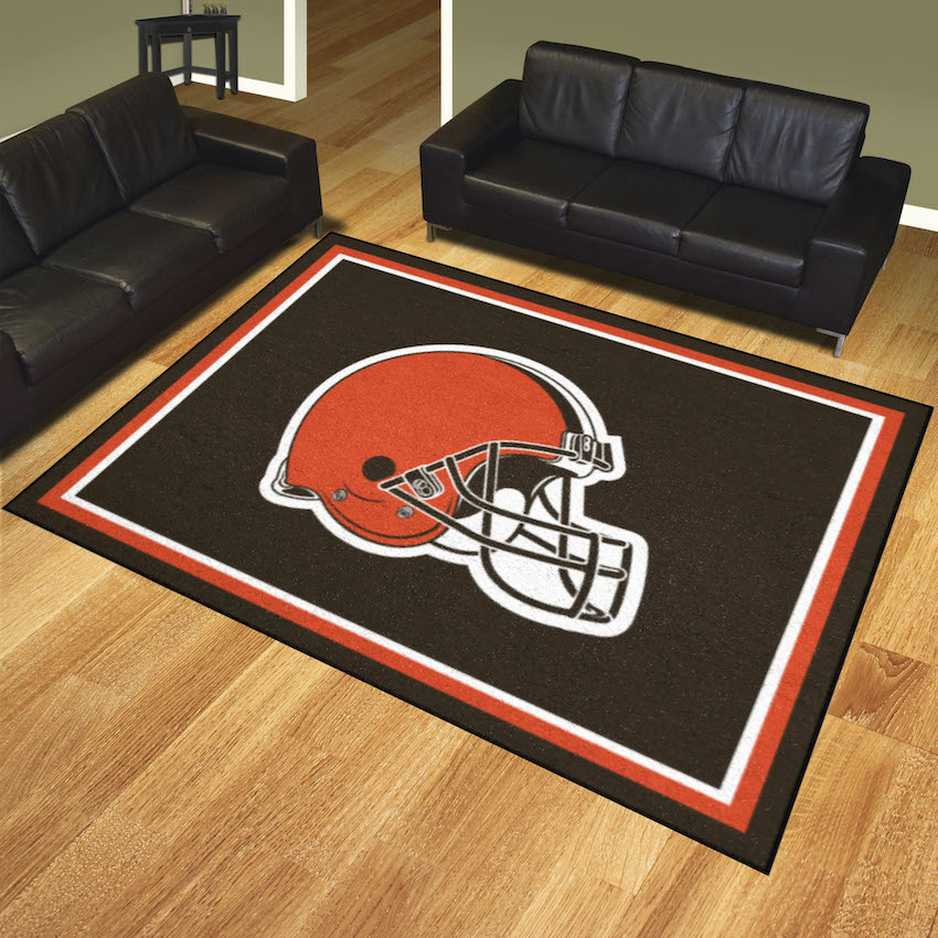 Cleveland Browns Ultra Plush 8x10 Area Rug