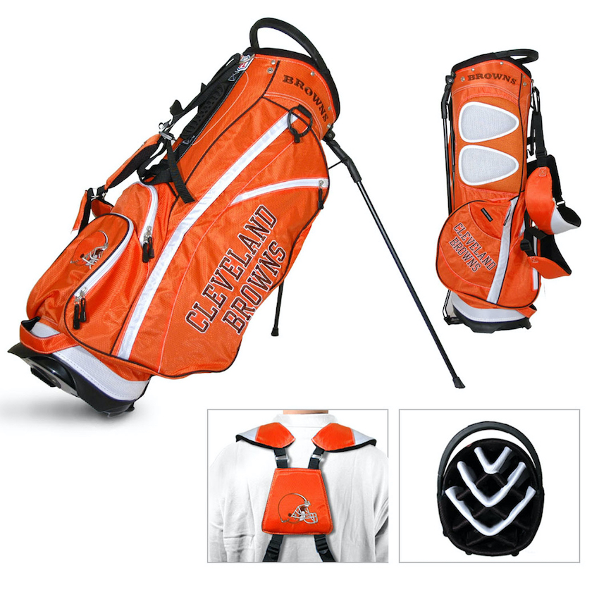 Cleveland Browns Fairway Carry Stand Golf Bag