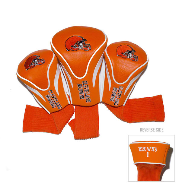 Cleveland Browns 3 Pack Contour Headcovers