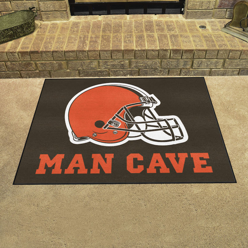 Cleveland Browns ALL STAR 34 x 45 MAN CAVE Floor Mat