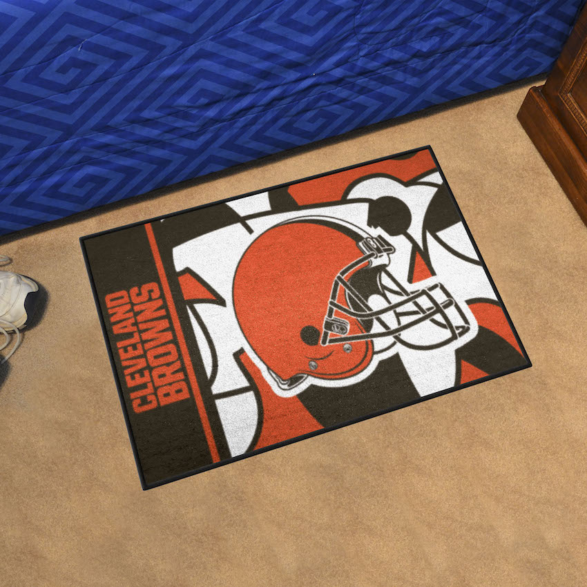 Cleveland Browns 20 x 30 Quick Snap Starter Floor Mat