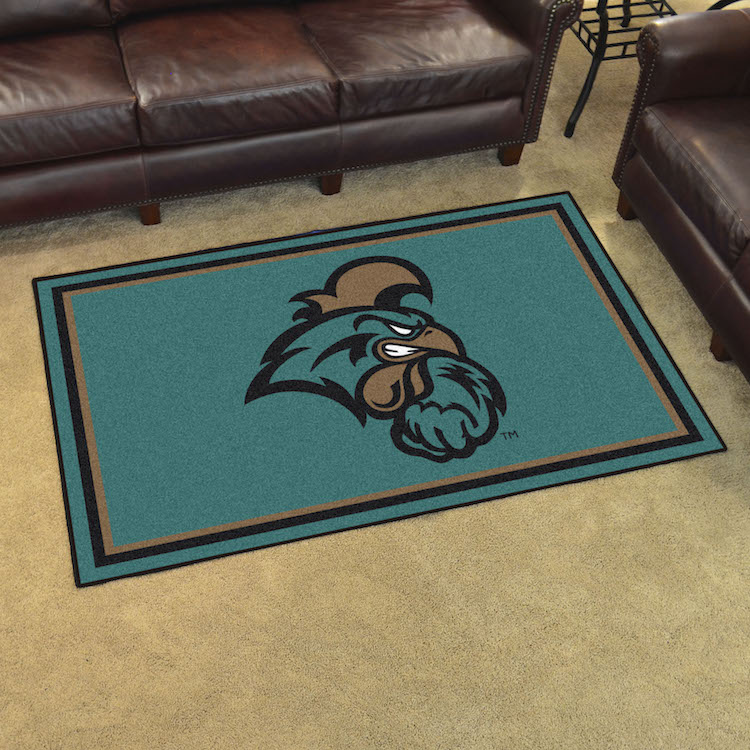 Coastal Carolina Chanticleers 4x6 Area Rug