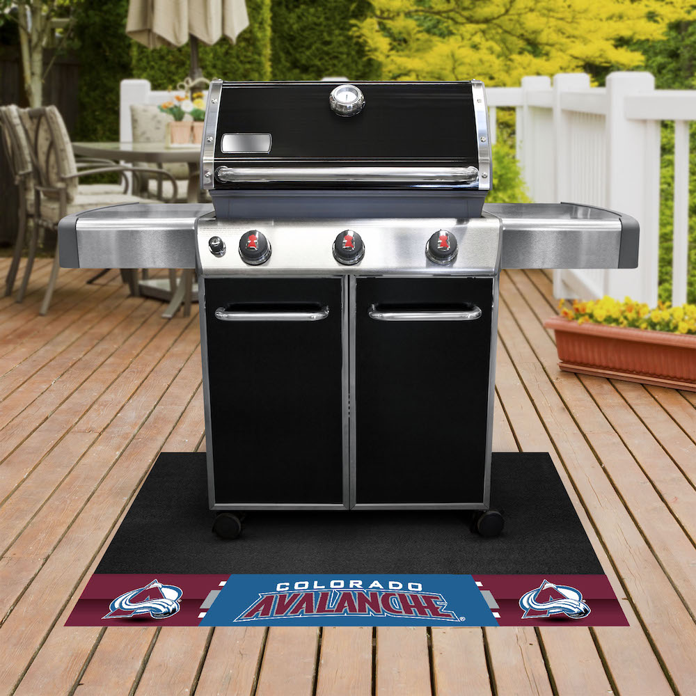 Colorado Avalanche NHL Grill Mat