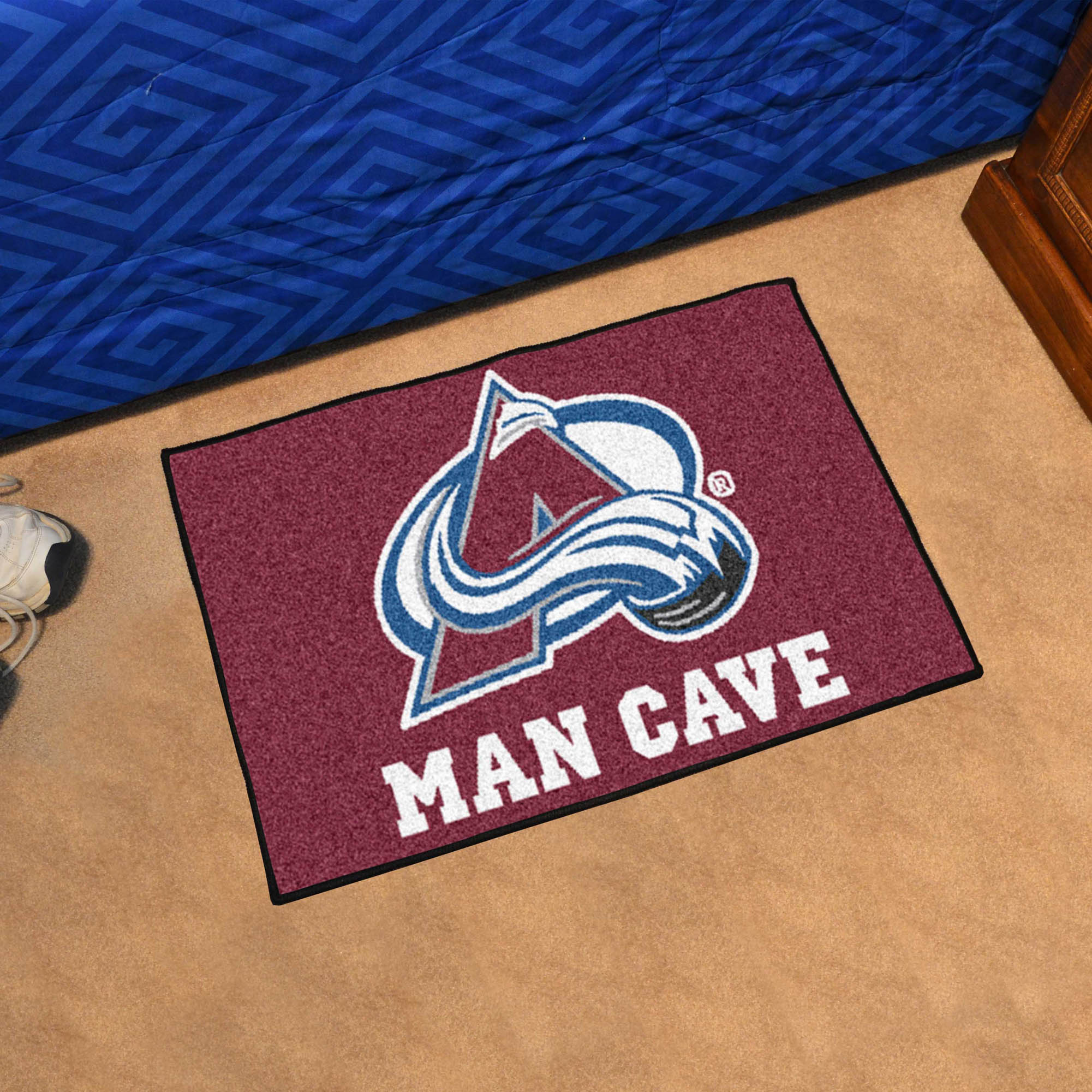 Colorado Avalanche MAN CAVE 20 x 30 STARTER Floor Mat