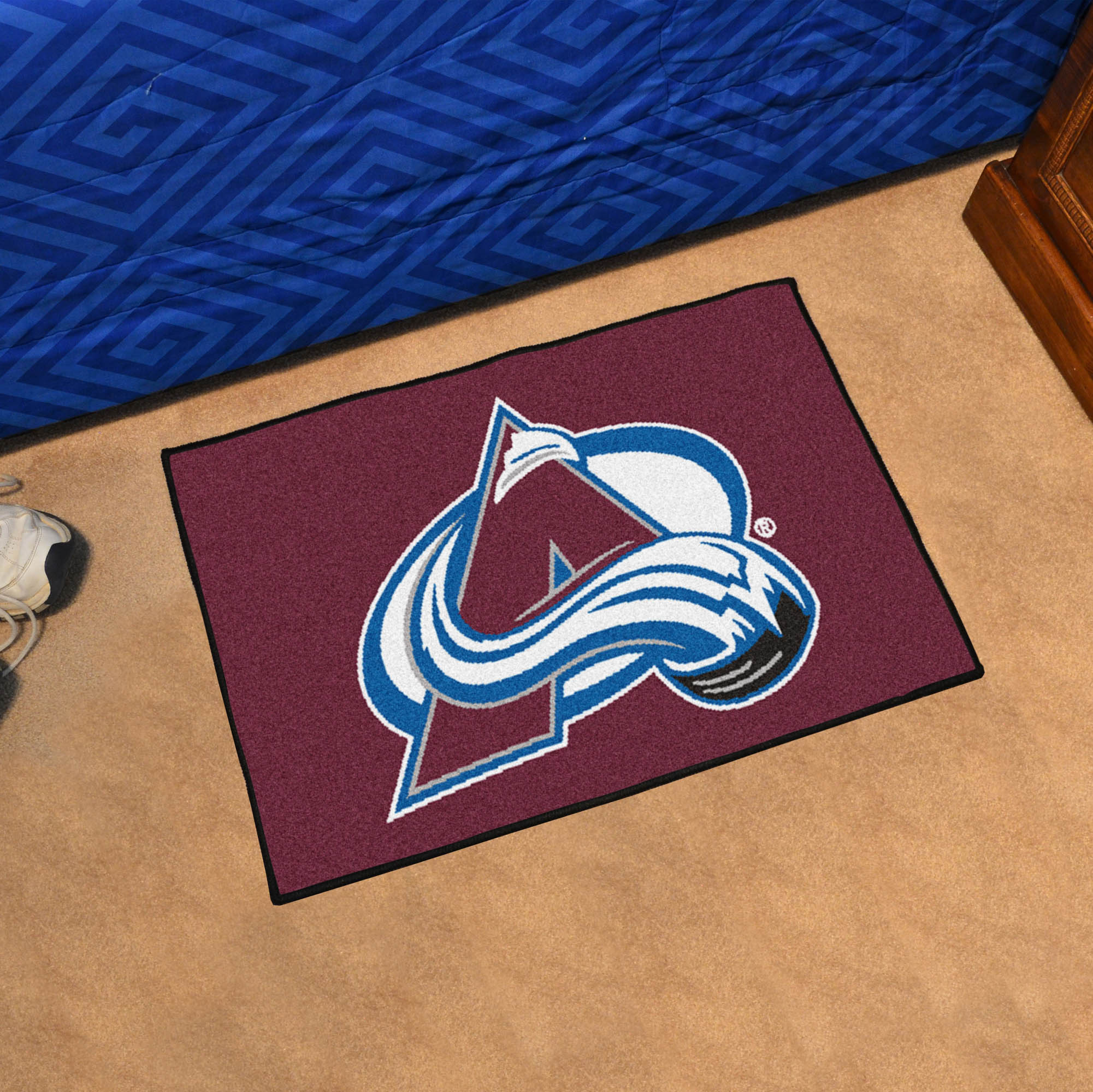 Colorado Avalanche 20 x 30 STARTER Floor Mat