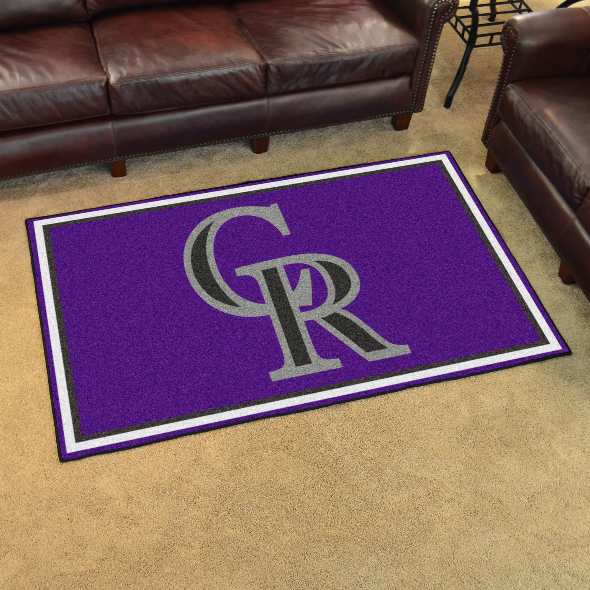 Colorado Rockies 4x6 Area Rug