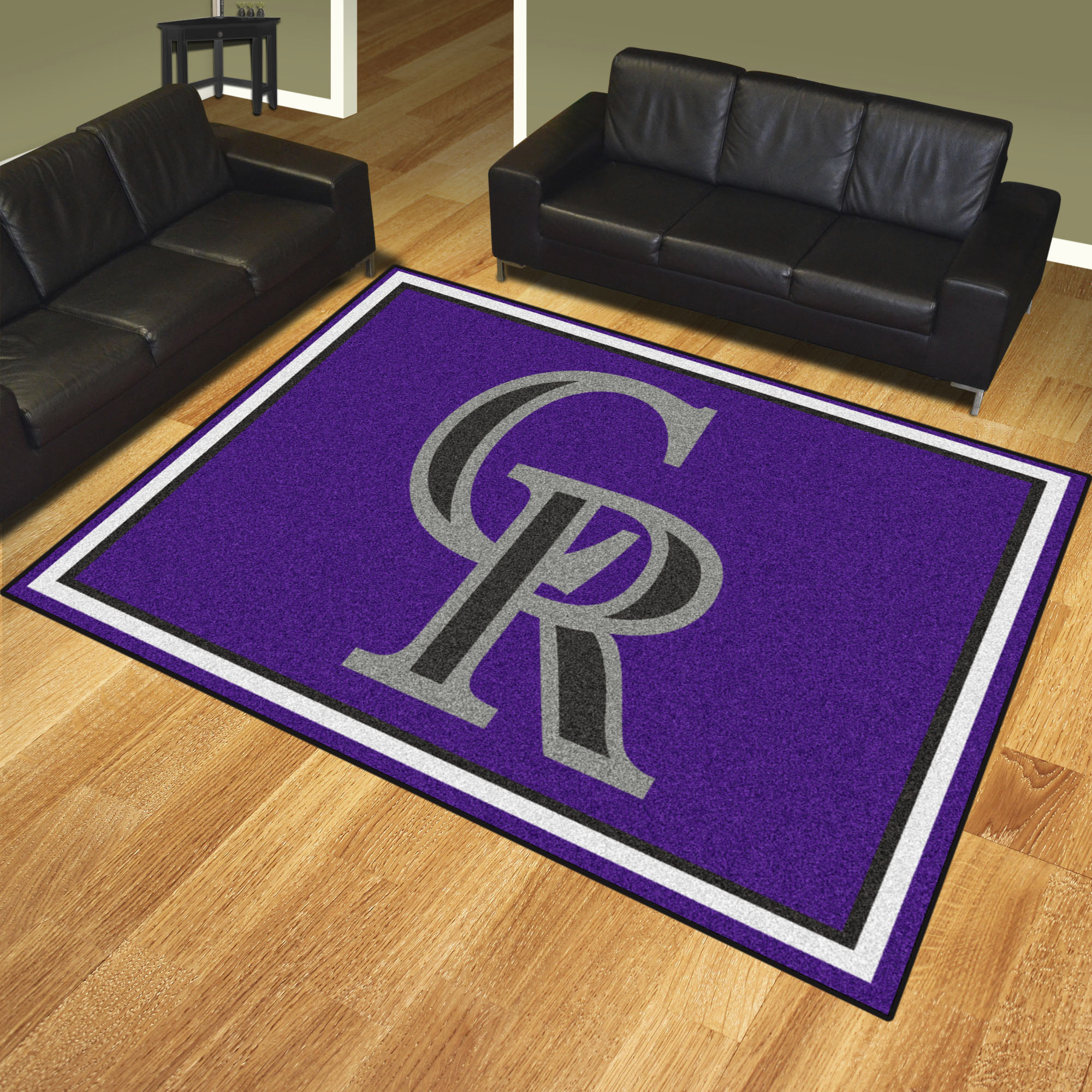 Colorado Rockies Ultra Plush 8x10 Area Rug