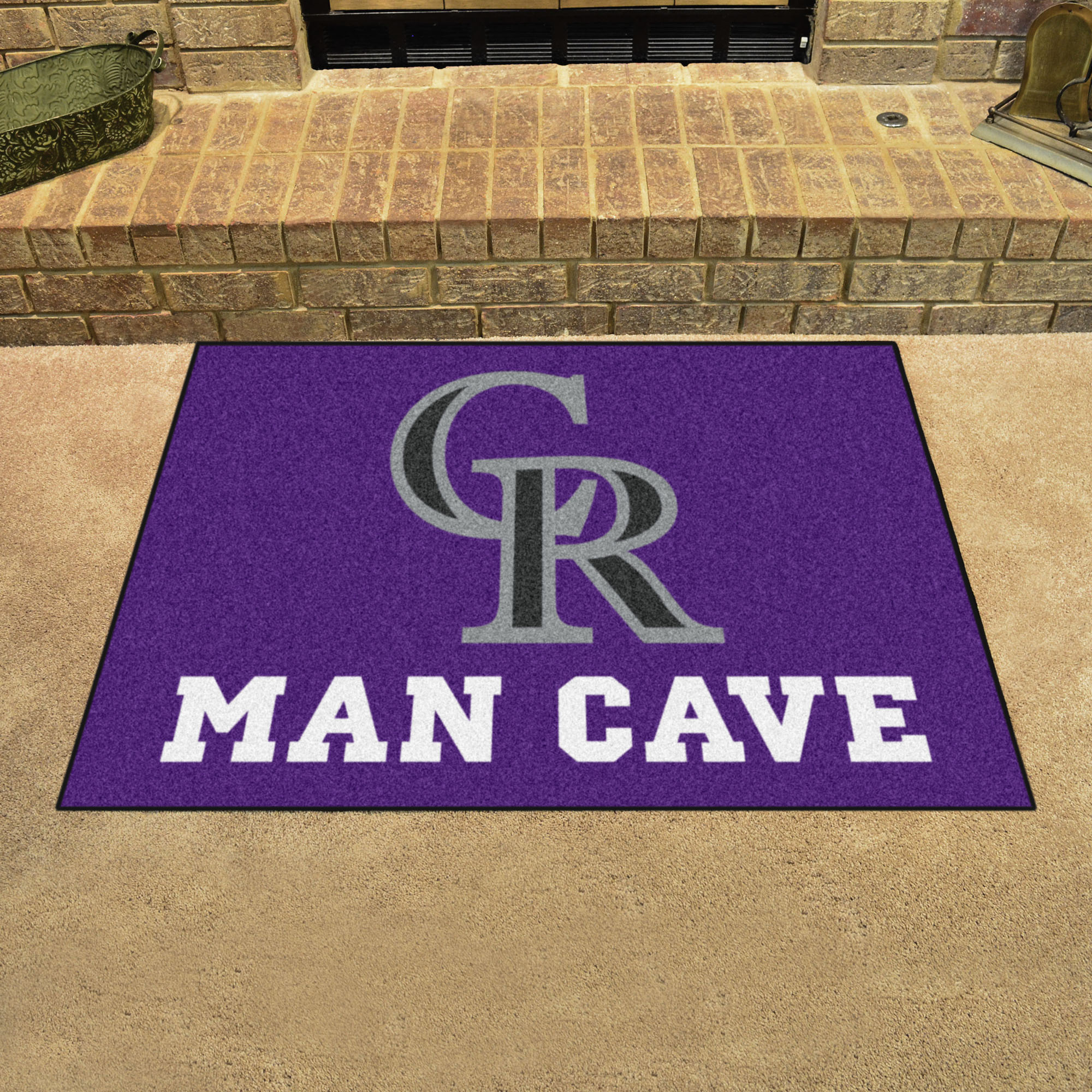 Colorado Rockies ALL STAR 34 x 45 MAN CAVE Floor Mat
