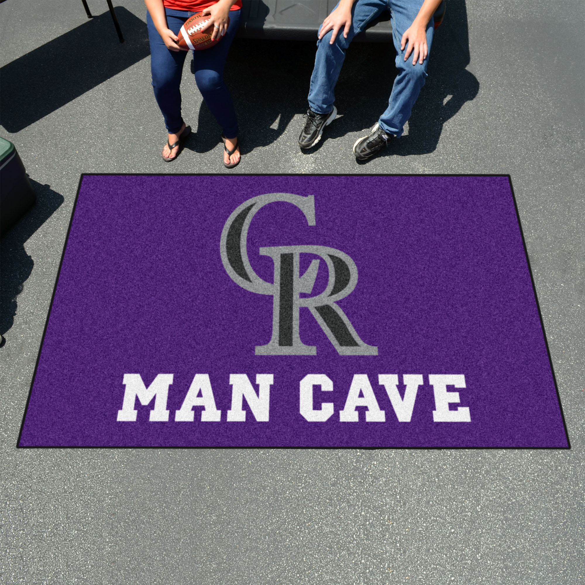 Colorado Rockies UTILI-MAT 60 x 96 MAN CAVE Rug