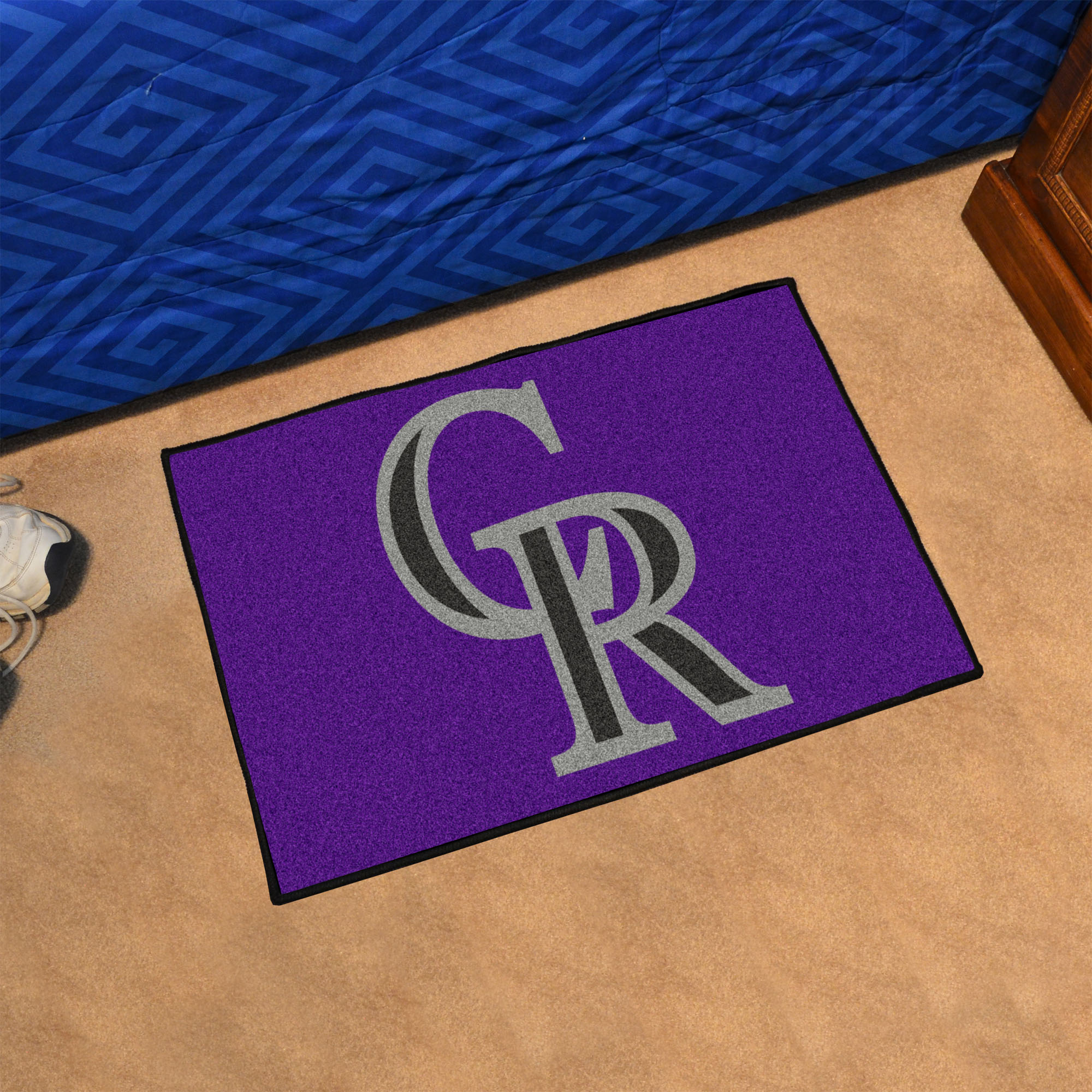 Colorado Rockies 20 x 30 STARTER Floor Mat