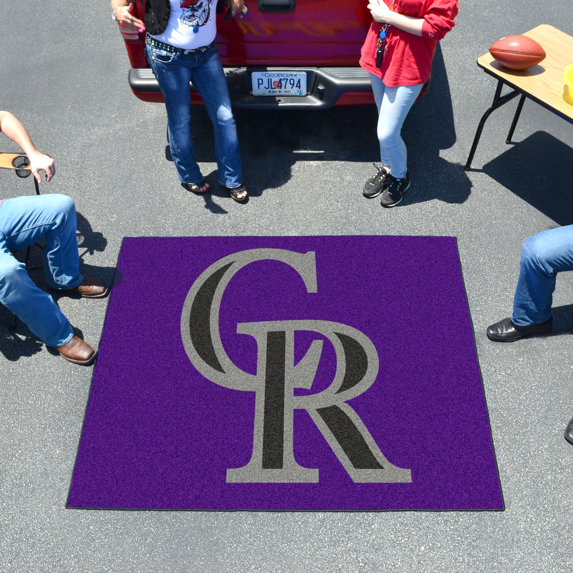 Colorado Rockies TAILGATER 60 x 72 Rug