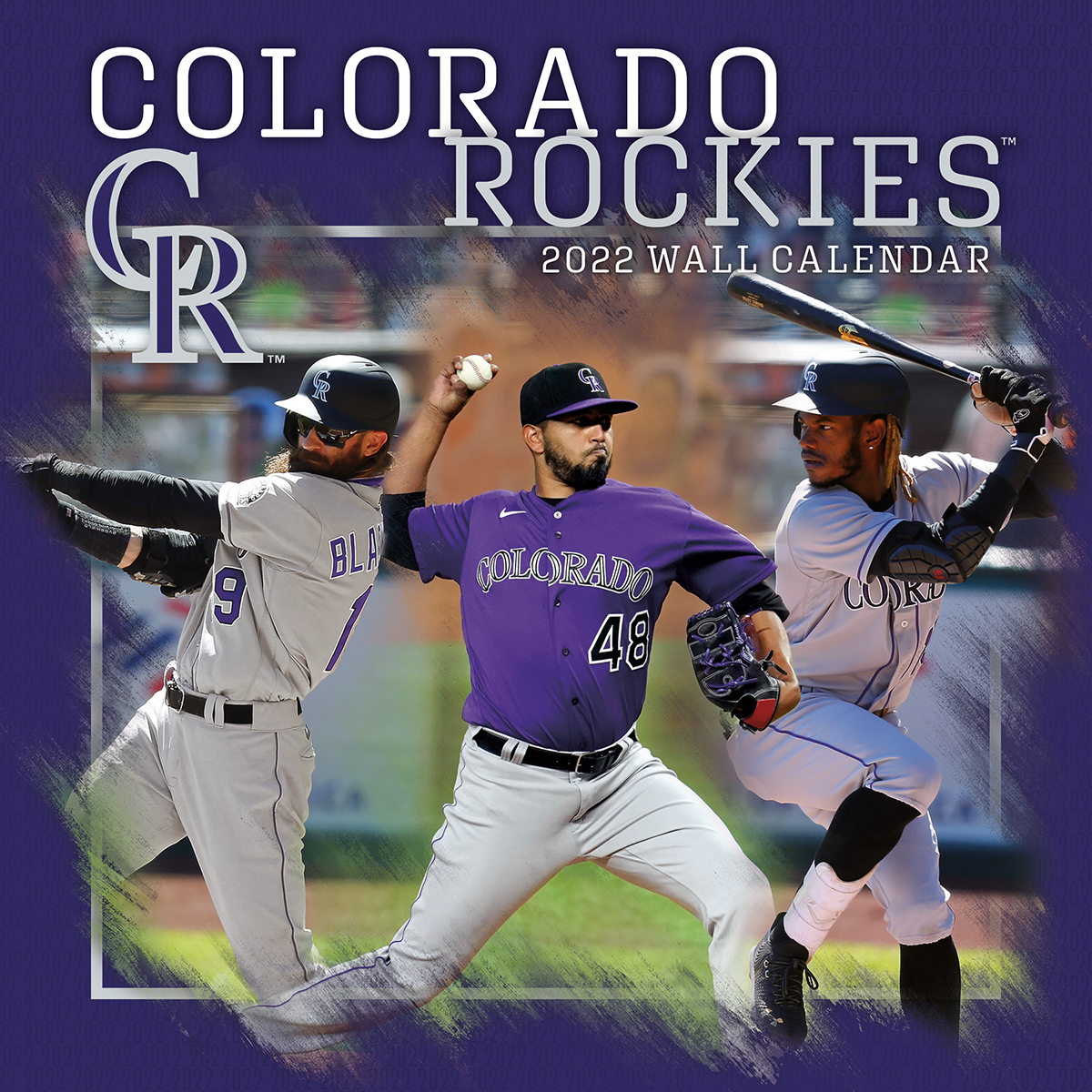 Colorado Rockies 2019 Wall Calendar