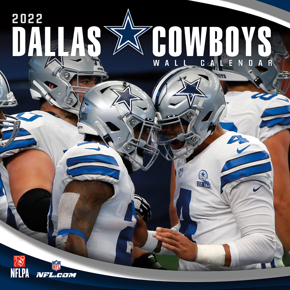 Dallas Cowboys 2019 NFL Wall Calendar