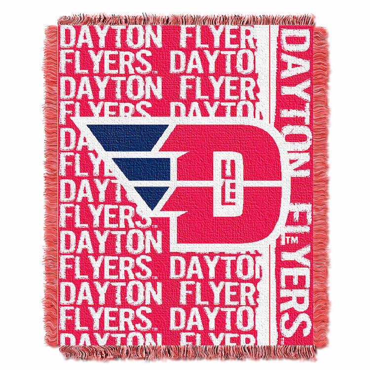 Dayton Flyers Double Play Tapestry Blanket 48 x 60
